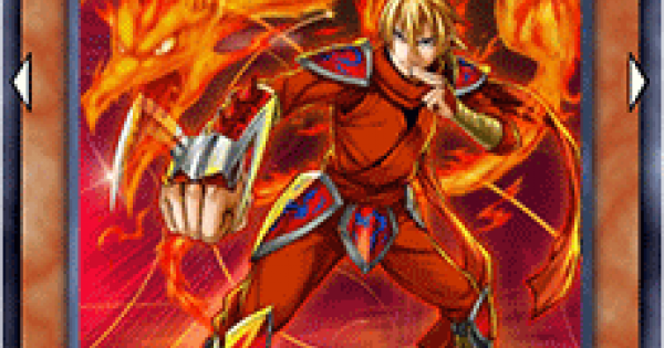 【遊戯王デュエルリンクス】赤竜の忍者の評価と入手方法