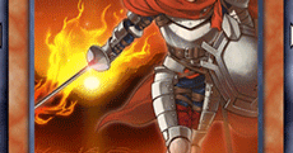 【遊戯王デュエルリンクス】紅炎の騎士の評価と入手方法
