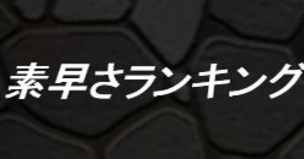 【DQMSL】素早さモンスターランキング