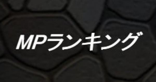 【DQMSL】MPモンスターランキング