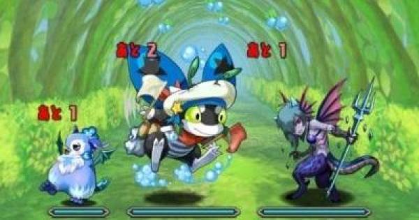【パズドラ】水の蟲龍(超地獄級)ノーコン攻略