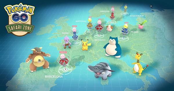 【ポケモンGO】ヨーロッパでリアルイベント「サファリゾーン」が開催!