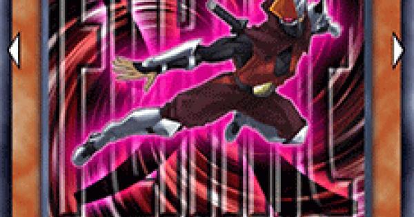 【遊戯王デュエルリンクス】機甲忍者フレイムの評価と入手方法