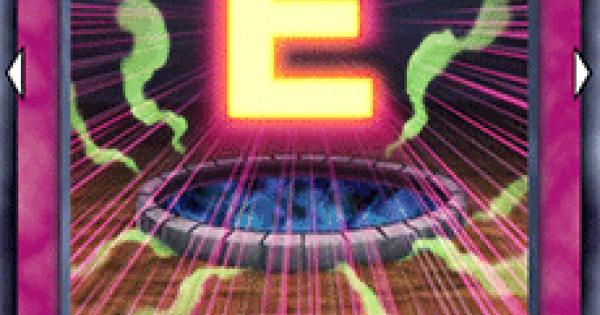 【遊戯王デュエルリンクス】ブービートラップEの評価と入手方法