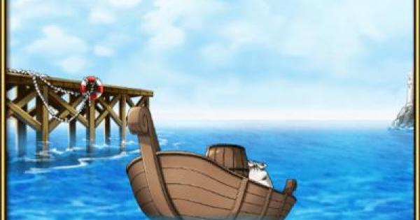 【トレクル】【船】樽付小舟【ワンピース トレジャークルーズ】