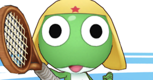 【白猫テニス】ケロロ軍曹(神気)の評価とおすすめギア【白テニ】