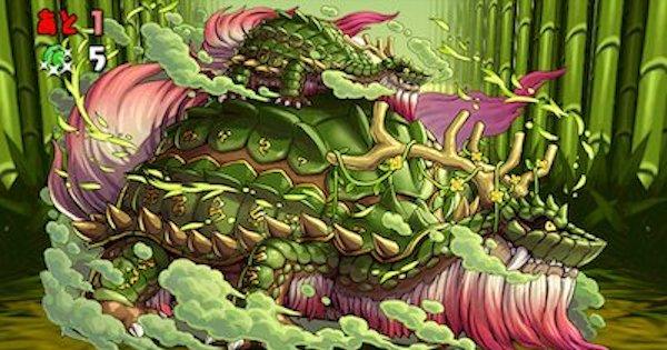 【パズドラ】木の戦武龍(超地獄級ノーコン攻略と安定周回|ガンゾ