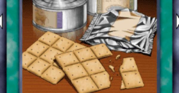 【遊戯王デュエルリンクス】非常食の評価と入手方法