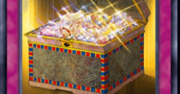【遊戯王デュエルリンクス】王家の財宝の評価と入手方法