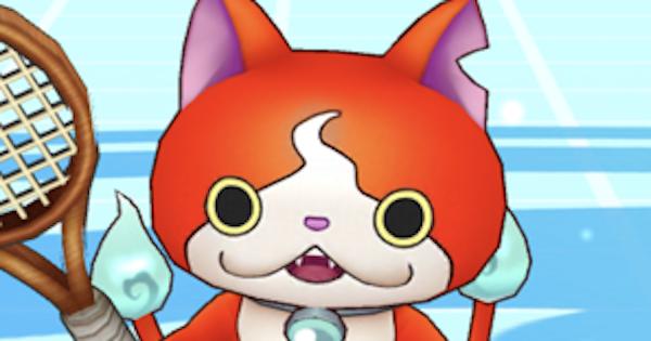 【白猫テニス】ジバニャン(神気)の評価とおすすめギア【白テニ】