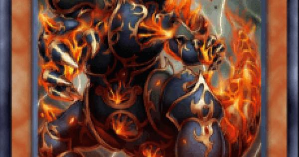 【遊戯王デュエルリンクス】炎霊神パイロレクスの評価と入手方法
