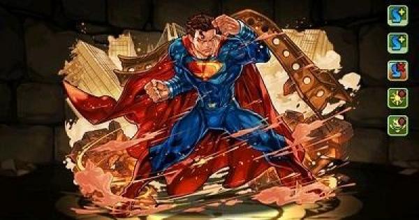 【パズドラ】スーパーマンの評価と使い道|ジャスティスリーグコラボ