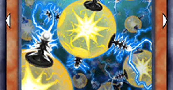 【遊戯王デュエルリンクス】同族感電ウィルスの評価と入手方法