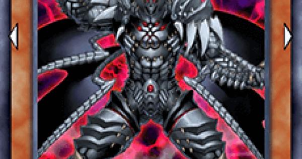 【遊戯王デュエルリンクス】漆黒の魔王LV8の評価と入手方法