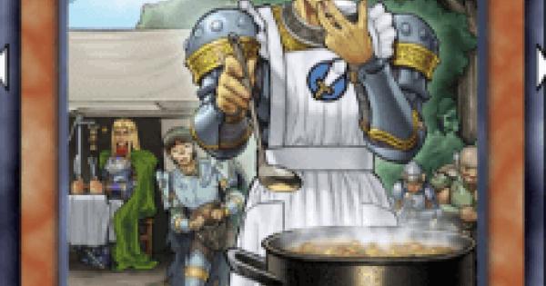 【遊戯王デュエルリンクス】切り盛り隊長の評価と入手方法