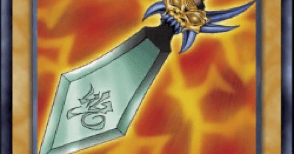 【遊戯王デュエルリンクス】呪われし魔剣の評価と入手方法