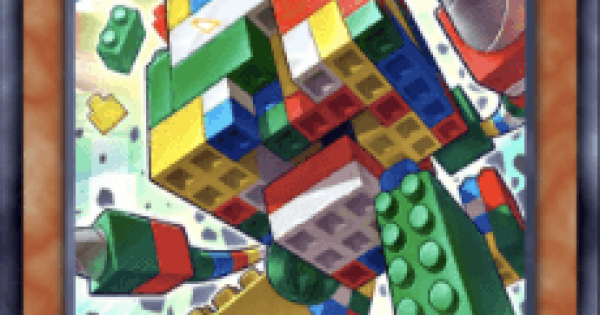 【遊戯王デュエルリンクス】ブロックゴーレムの評価と入手方法