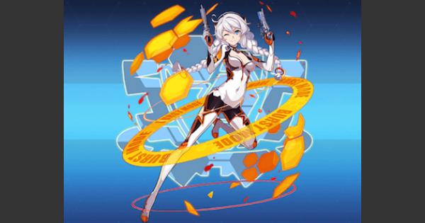 【崩壊3rd】白練・爆裂形態(聖痕)の評価とスキル