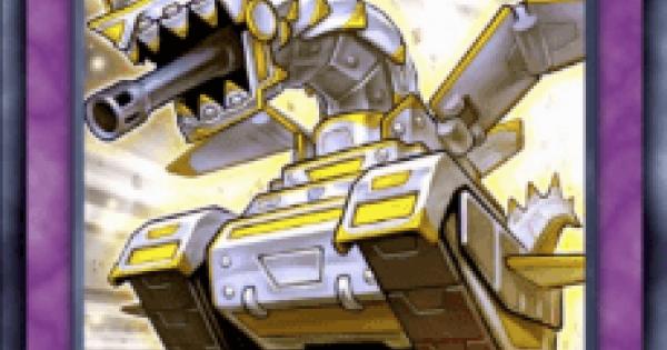 【遊戯王デュエルリンクス】重装機甲パンツァードラゴンの評価と入手方法