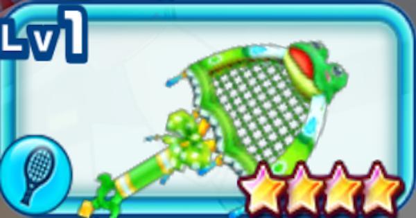 【白猫テニス】ケロケロヘッドの評価 | ツユハモチーフラケット【白テニ】