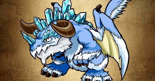 【ポコダン】氷竜アイスドラゴン亜種の評価と強い点【ポコロンダンジョンズ】