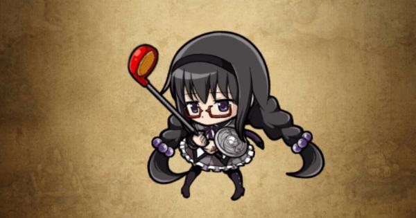【ポコダン】暁美ほむらめがねver.の評価と強い点|まどマギコラボ【ポコロンダンジョンズ】