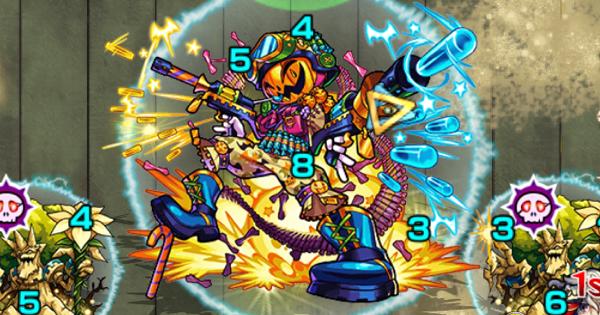 【モンスト】ブルリオ攻略【1】と適正キャラランキング|神獣の聖域