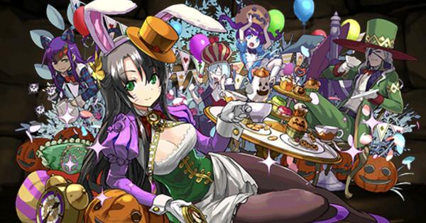 【パズドラ】ハロウィンヴェルダンディの最新テンプレパーティ