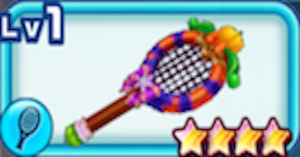 【白猫テニス】パンプキンフレアの評価 | ハロウィンコヨミモチーフラケット【白テニ】