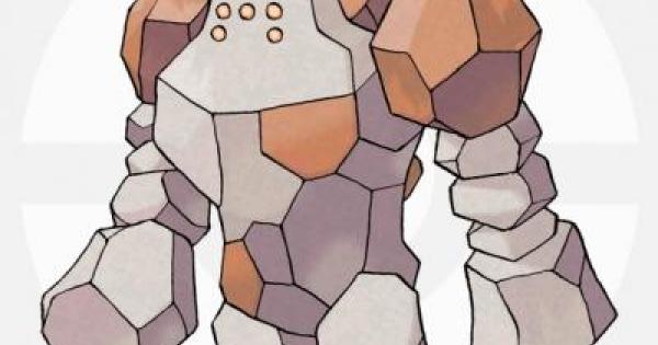 【USUM】レジロックの出現場所と種族値&覚える技【ポケモンウルトラサンムーン】