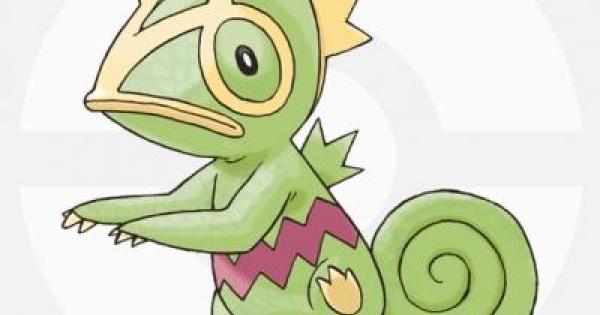 【USUM】カクレオンの出現場所と種族値&覚える技【ポケモンウルトラサンムーン】