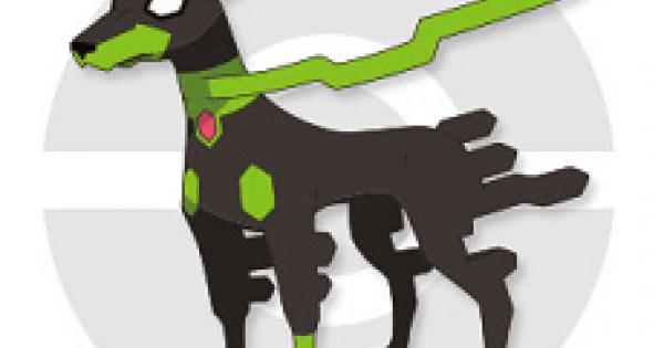 【USUM】ジガルデ(10%フォルム)の出現場所と種族値&覚える技【ポケモンウルトラサンムーン】