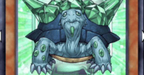 【遊戯王デュエルリンクス】宝玉獣エメラルドタートルの評価と入手方法