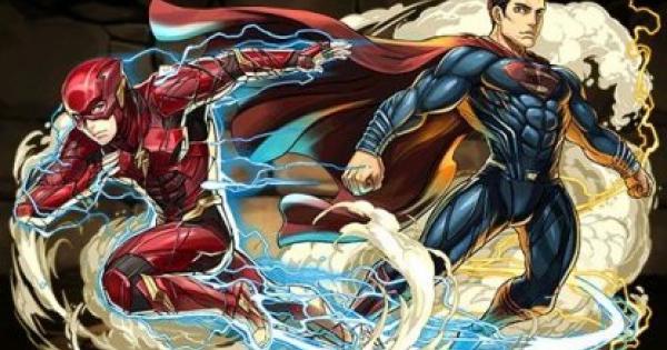 【パズドラ】スーパーマン&フラッシュの評価と使い道|ジャスティスリーグ