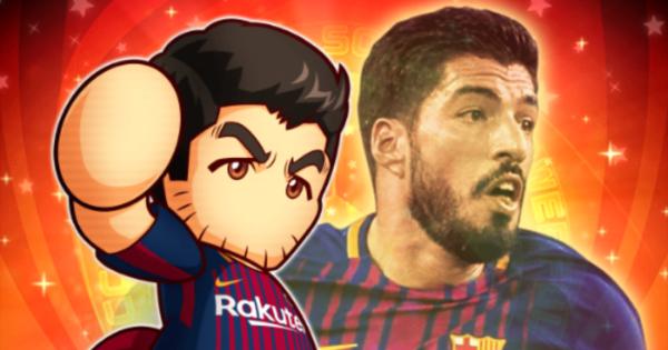 【パワサカ】スアレスの評価とイベント|FCバルセロナコラボ【パワフルサッカー】