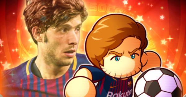 【パワサカ】セルジ・ロベルトの評価とイベント|FCバルセロナコラボ【パワフルサッカー】