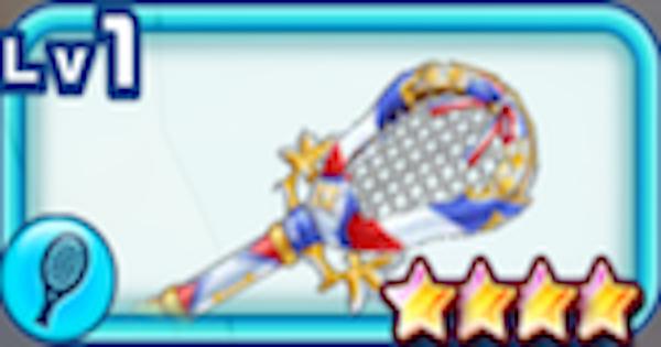 【白猫テニス】サスガペルセの評価 | 温泉フランモチーフラケット【白テニ】
