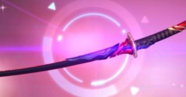 【崩壊3rd】地蔵御魂(太刀)の評価と装備おすすめキャラ