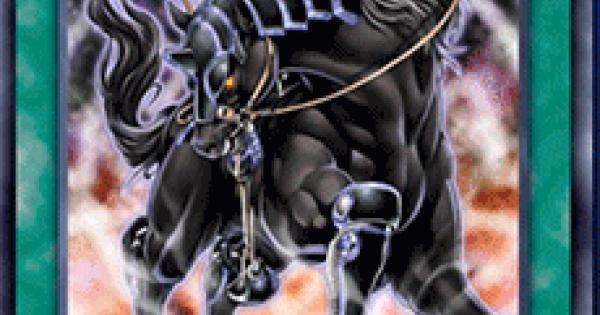 【遊戯王デュエルリンクス】漆黒の名馬の評価と入手方法