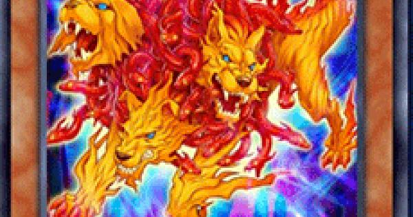 【遊戯王デュエルリンクス】陽炎獣サーベラスの評価と入手方法