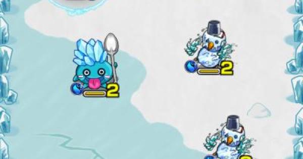 【モンスト】冷凍戦線【氷山まがいの重力獣】攻略・周回パーティ