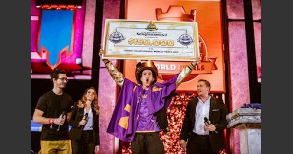 【クラロワ】2700万名以上の頂点!世界最強プレイヤー決定!【クラッシュロワイヤル】