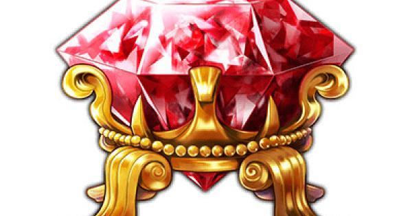 紅玉石の属性とレアリティ