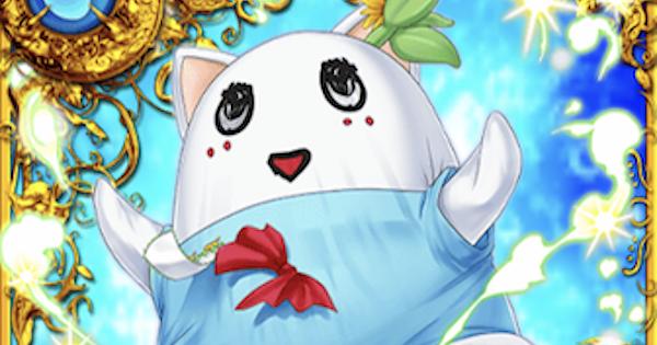 【黒猫のウィズ】白い猫の妖精 ふにゃっしー(ふなふにゃな冒険なっしー!)の評