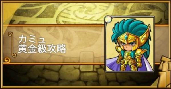 【ポコダン】カミュ黄金級攻略 黄金十二宮【ポコロンダンジョンズ】