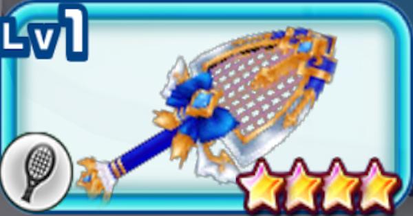 【白猫テニス】フライングパルの評価   聖夜エクセリアモチーフラケット【白テニ】