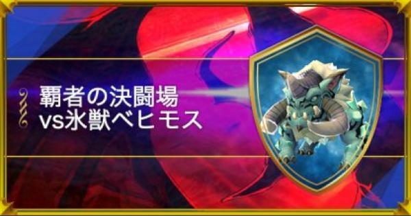 【スママジ】覇者の決闘場:vs氷獣ベヒモス攻略【スマッシュ&マジック】