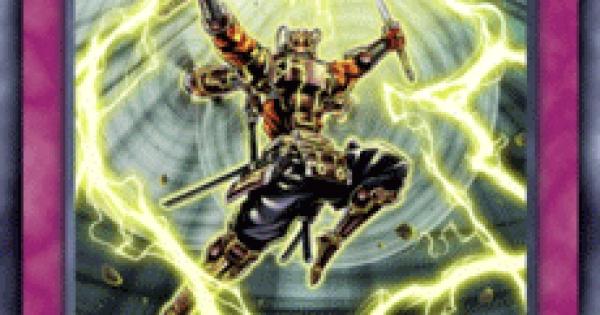 【遊戯王デュエルリンクス】六武式風雷斬の評価と入手方法
