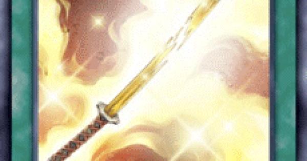 【遊戯王デュエルリンクス】黄金色の竹光の評価と入手方法