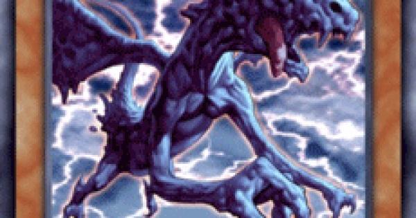 【遊戯王デュエルリンクス】雲魔物-ストームドラゴンの評価と入手方法
